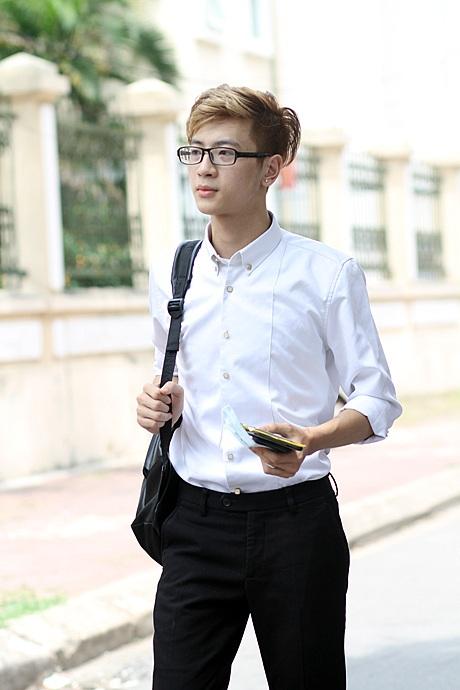 Phí Ngọc Hưng thi vào khoa Diễn viên nổi bật với gương mặt thư sinh như sao Hàn