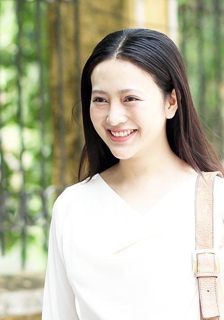 Nụ cười tỏa nắng của nữ sinh đến từ Thái Nguyên