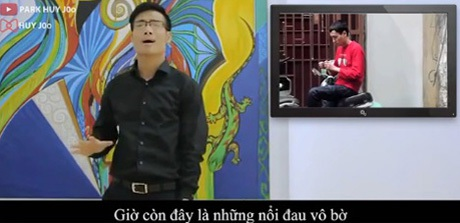 Hình ảnh trong clip tưởng nhớ Toàn Shinoda của Huy Joo