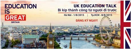 Gặp gỡ 30 du học sinh và cựu du học sinh Anh ưu tú