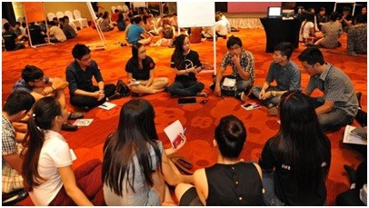 Sự kiện giao lưu với du học sinh Anh do Hội đồng Anh tổ chức
