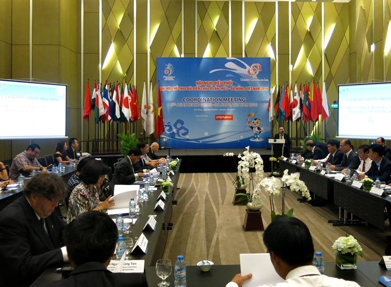 Hội nghị Điều phối Đại hội Thể thao Bãi biễn Châu Á vừa diễn ra tại Đà Nẵng ngày 6/10