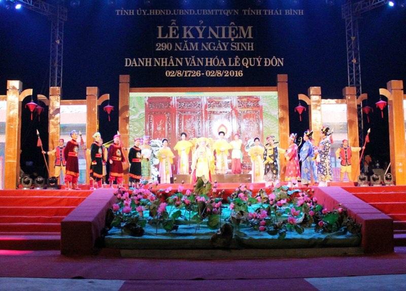 Lễ kỷ niệm 290 năm ngày sinh Danh nhân văn hóa Lê Quý Đôn - Ảnh 2.