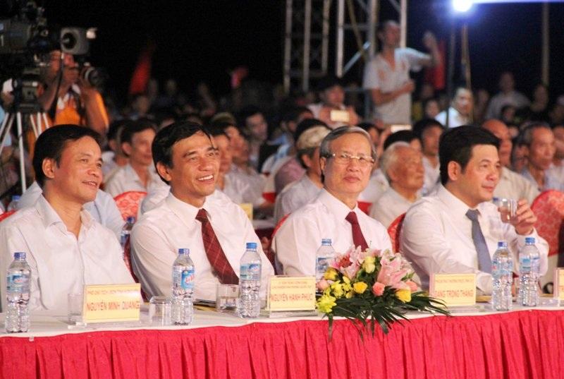 Lễ kỷ niệm 290 năm ngày sinh Danh nhân văn hóa Lê Quý Đôn - Ảnh 1.