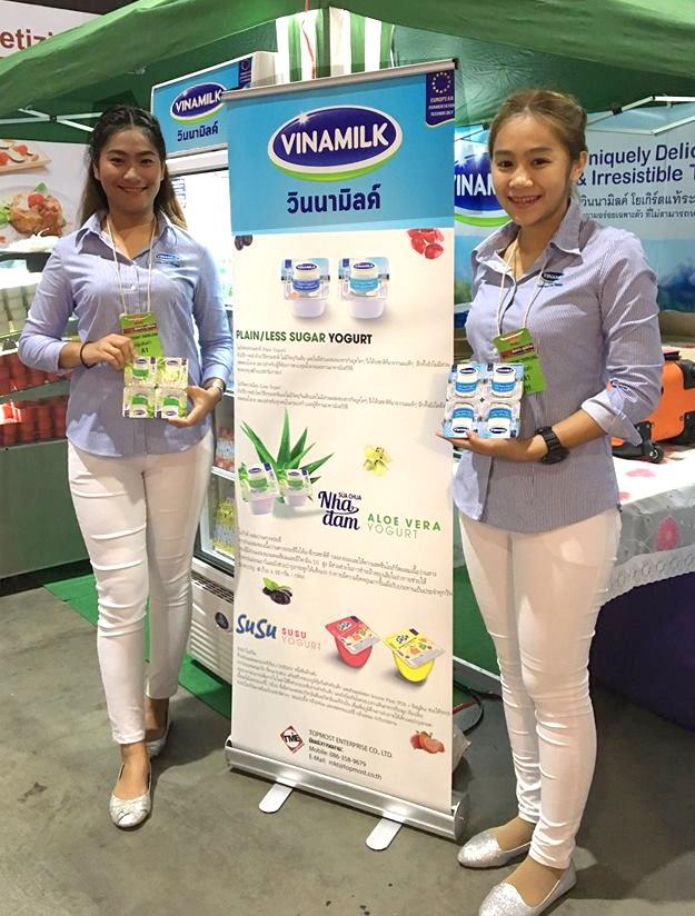 Sản phẩm Sữa chua ăn Vinamilk được người tiêu dùng Thái Lan rất ưa thích nhờ việc chất lượng và khẩu bị phù hợp với người tiêu dùng Thái, kèm với việc phát triển hình ảnh bao bì đẹp, và tính năng phù hợp với thị hiếu bản địa.