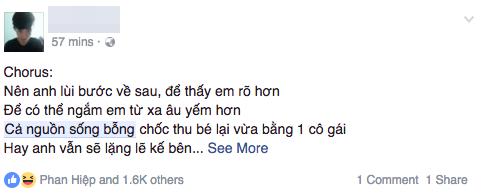 Trên Facebook những ngày này, đâu đâu cũng thấy Cả nguồn sống thu bé lại...