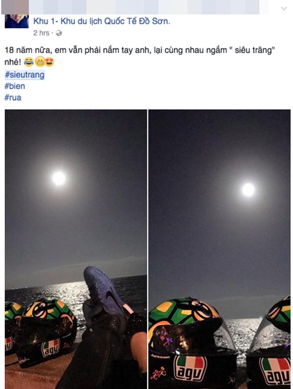 Ước hẹn ngắm siêu trăng sau 18 năm của một cặp đôi