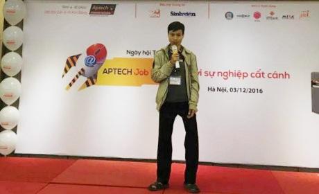 Anh Nguyễn Chí Thuận trình bày 6 điều cần nhớ khi khởi nghiệp ngành CNTT