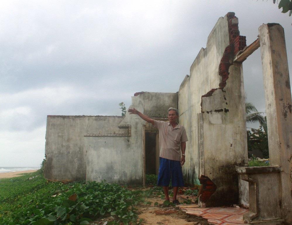 Công trình cộng đồng phòng tránh thiên tai -Trạm y tế xã Hoài Xuân là nơi giúp người dân địa phương có thêm chỗ tránh bão lũ