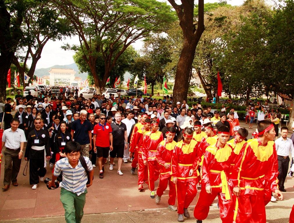 Bình Định: Gần 1.000 võ sư, võ sinh dâng hương Hoàng đế Quang Trung - Ảnh 4.