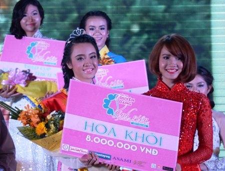Sinh viên Luật đăng quang Hoa khôi ĐH Quốc gia TPHCM