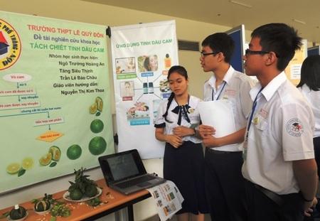 Học sinh Trường THPT Lê Quý Đôn với đề tài