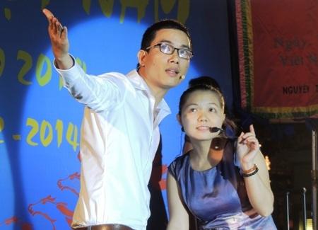 Tác giả trẻ Hồ Huy Sơn hóa vai rất đời với
