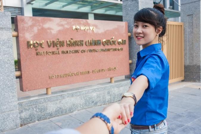 Nữ sinh Thanh tra, Học viện Hành chính chia sẻ kỷ niệm tiếp sức mùa thi
