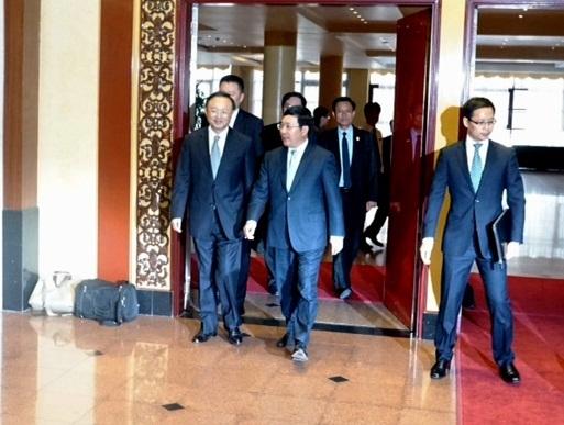Đây là lần thứ 2 ông Dương Khiết Trì tới thăm Việt Nam trong vòng 4 tháng qua (Ảnh Hữu Nghị)