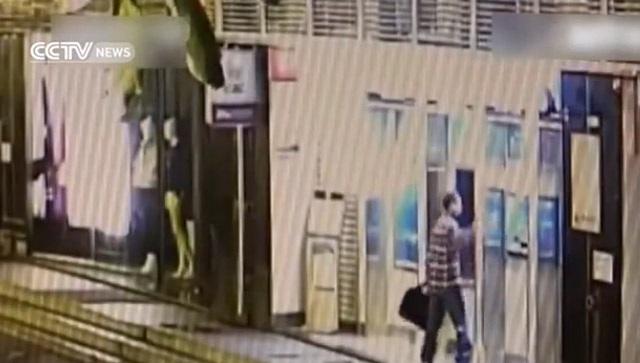 Người đàn ông đã đập phá 9 máy ATM sau khi không rút được tiền