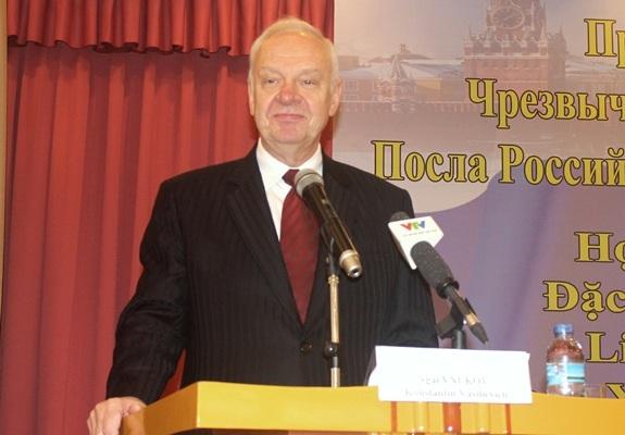 """Tân Đại sứ Nga: """"Hợp tác quân sự Việt-Nga không nhằm chống lại nước thứ 3"""""""