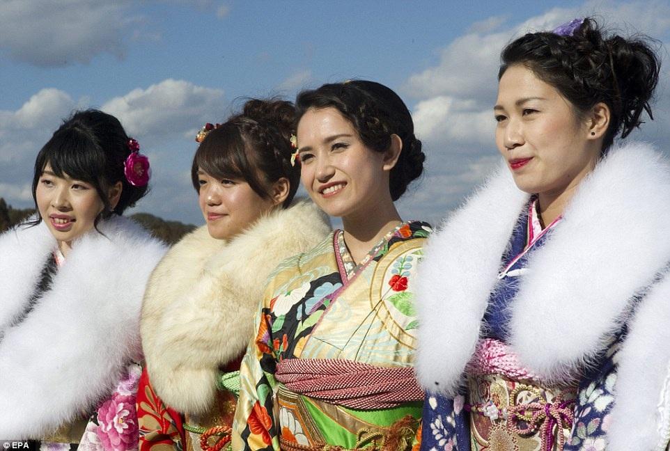 Những cô gái tại thành phố Isumi, tỉnh Chiba