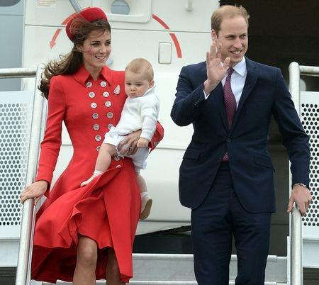 Hoàng tử bé George vừa tròn một tuổi vào tháng 7 vừa qua