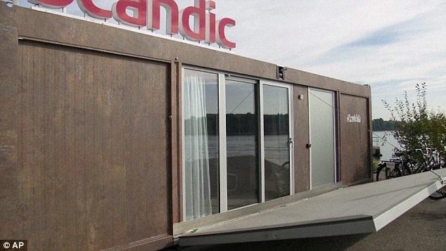 Căn phòng khách sạn di động của Scandic