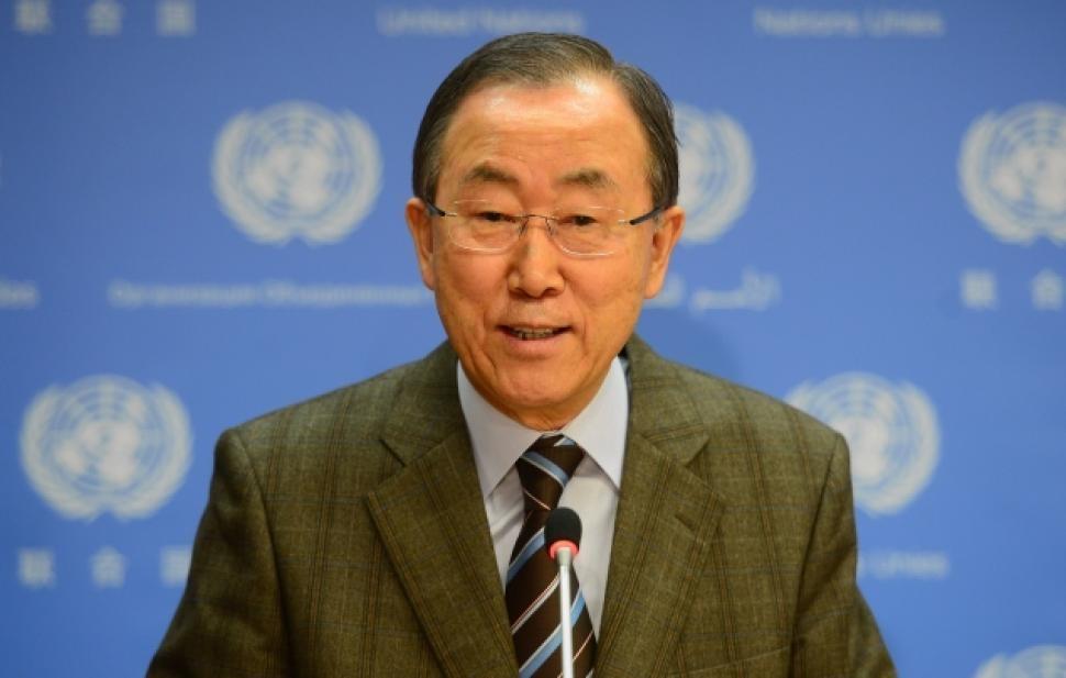 Tổng Thư ký Liên hợp quốc Ban Ki-moon (Ảnh: AFP)