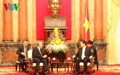 Chủ tịch nước Trương Tấn Sang tiếp Viện trưởng Viện Kiểm sát Nhân dân Tối cao Cuba