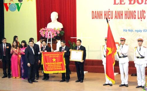 Chủ tịch nước trao tặng danh hiệu Anh hùng Lực lượng vũ trang cho Học viện Nông nghiệp Việt Nam