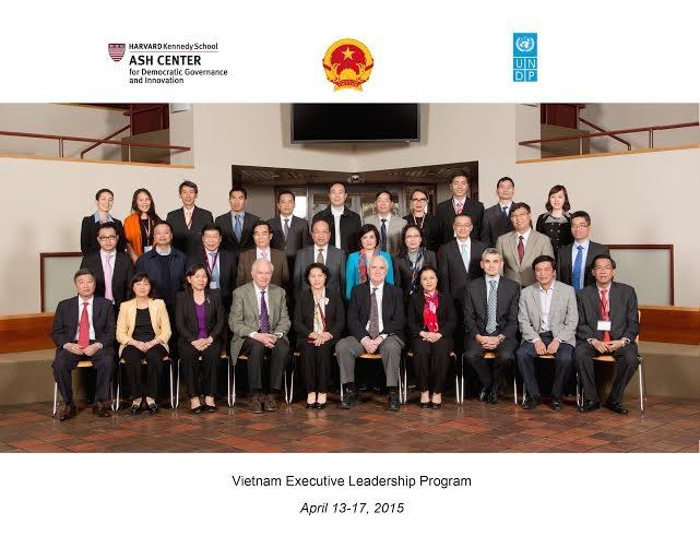 Các đại biểu tham dự Chương trình Lãnh đạo Quản lý cao cấp Việt Nam (VELP)