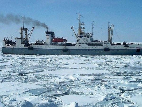 Một tàu cá tương tự tàu bị chìm Dalny Vostok. (Ảnh: AFP/TTXVN)