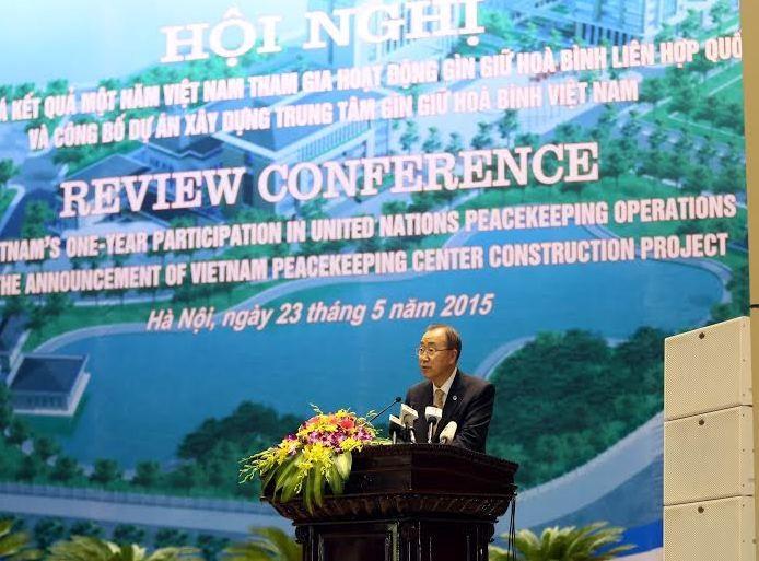 Tổng Thư ký LHQ Ban Ki-moon phát biểu tại hội nghị