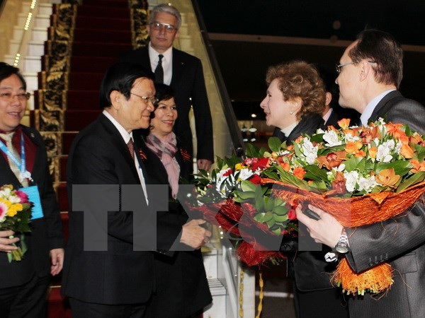 Chủ tịch nước tiếp Chủ tịch Đảng Cộng sản và lãnh đạo các tập đoàn Nga