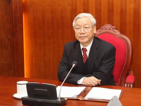 Tổng Bí thư Nguyễn Phú Trọng (Ảnh: ĐSCVN)