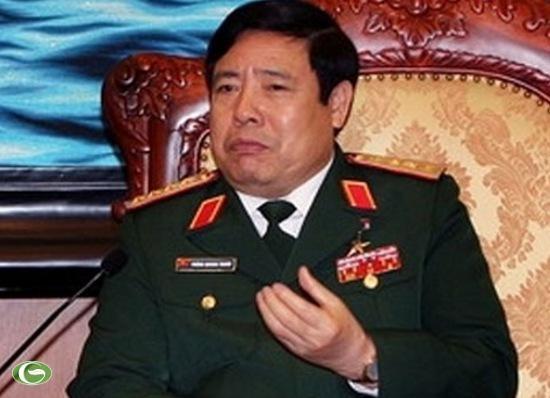 Bộ trưởng Bộ Quốc phòng Phùng Quang Thanh