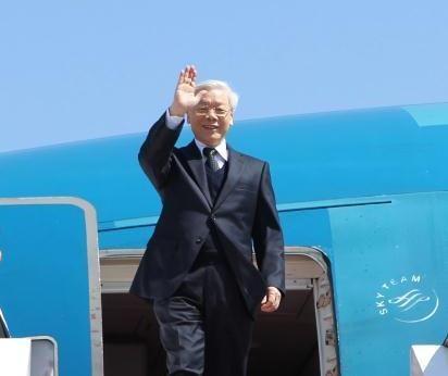 Tổng Bí thư Nguyễn Phú Trọng (Ảnh: TTXVN)