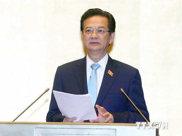 Thủ tướng Nguyễn Tấn Dũng. (Ảnh: Nhan Sáng/TTXVN)