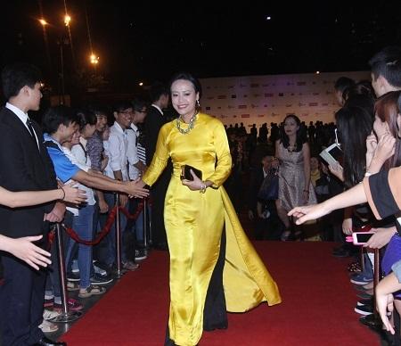 Diễn viên Hồng Ánh- Giám khảo hạng mục phim dài tại LHP