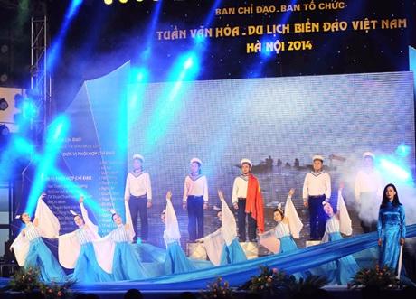 Hình ảnh tại Lễ văn hóa- du lịch biển đảo Việt Nam tối 21/11