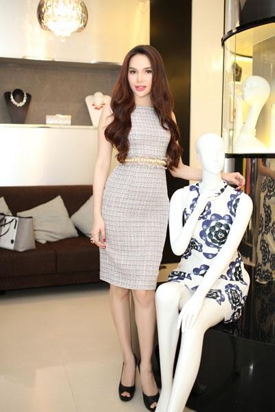 Hoa hậu Diệu Hân tươi tắn, xinh đẹp