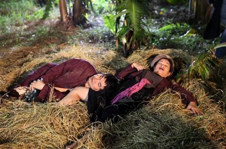 Theo chia sẻ của đạo diễn, cảnh nóng trong tiểu phẩm Chuyện tình vườn chuối được xử lý tinh tế
