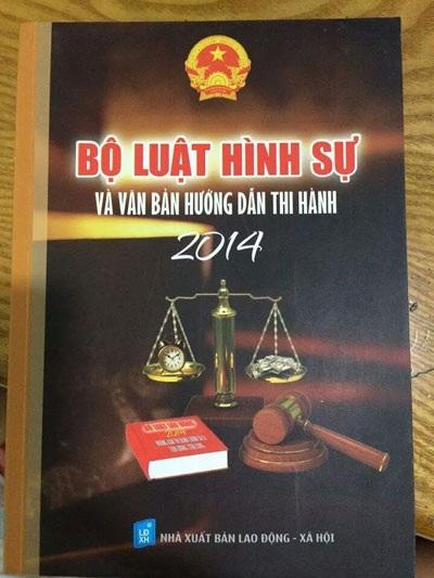 Một cuốn sách luật khác của NXB Lao động- Xã hội bị đình chỉ phát hành