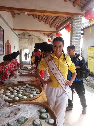 Một số hình ảnh Phạm Thị Kim Thi tại Trung Quốc