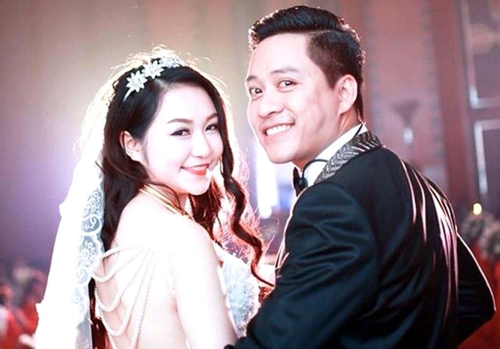 Tuấn Hưng và Hương Baby hạnh phúc trong ngày cưới