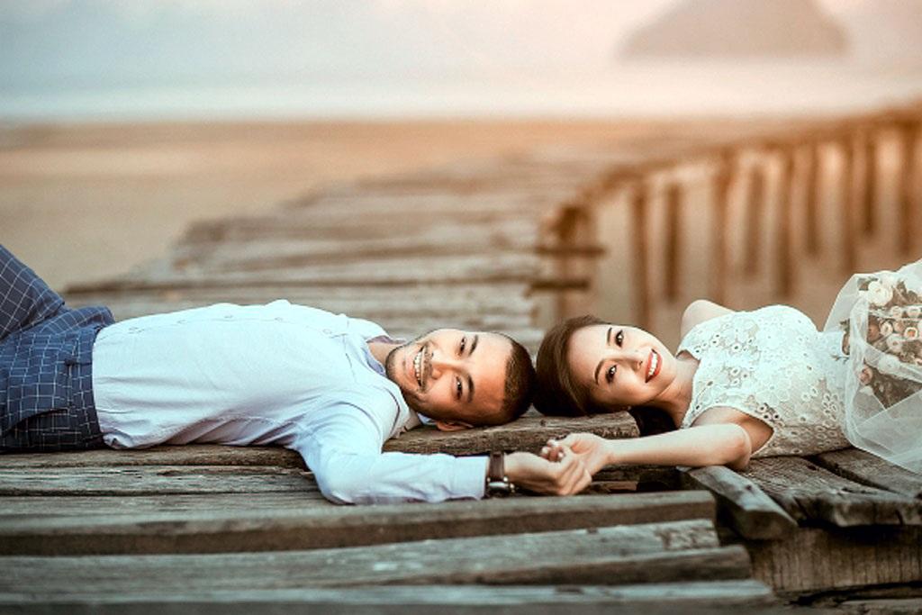 Doãn Tuấn- Quỳnh Nga gặp nhiều thị phi sau hôn lễ (Ảnh: Nguyễn Vũ)