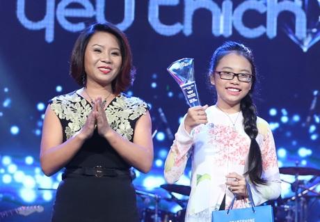 Phương Mỹ Chi nhận luôn giải thưởng Bài hát yêu thích tháng 12