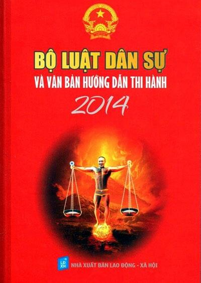 Bìa cuốn sách luật hinh hình diễn viên Công Lý phản cảm