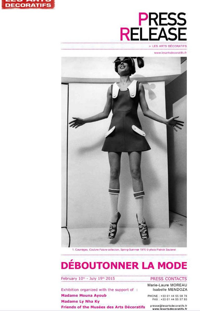 Lý Nhã Kỳ xuất hiện trên thông cáo báo chí triển lãm thời trang lớn tại Pháp