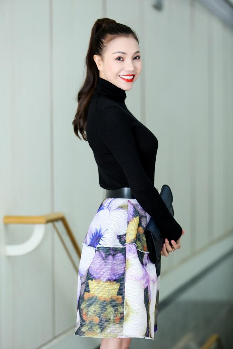 Người đẹp Trà Ngọc Hằng cũng tham dự sự kiện
