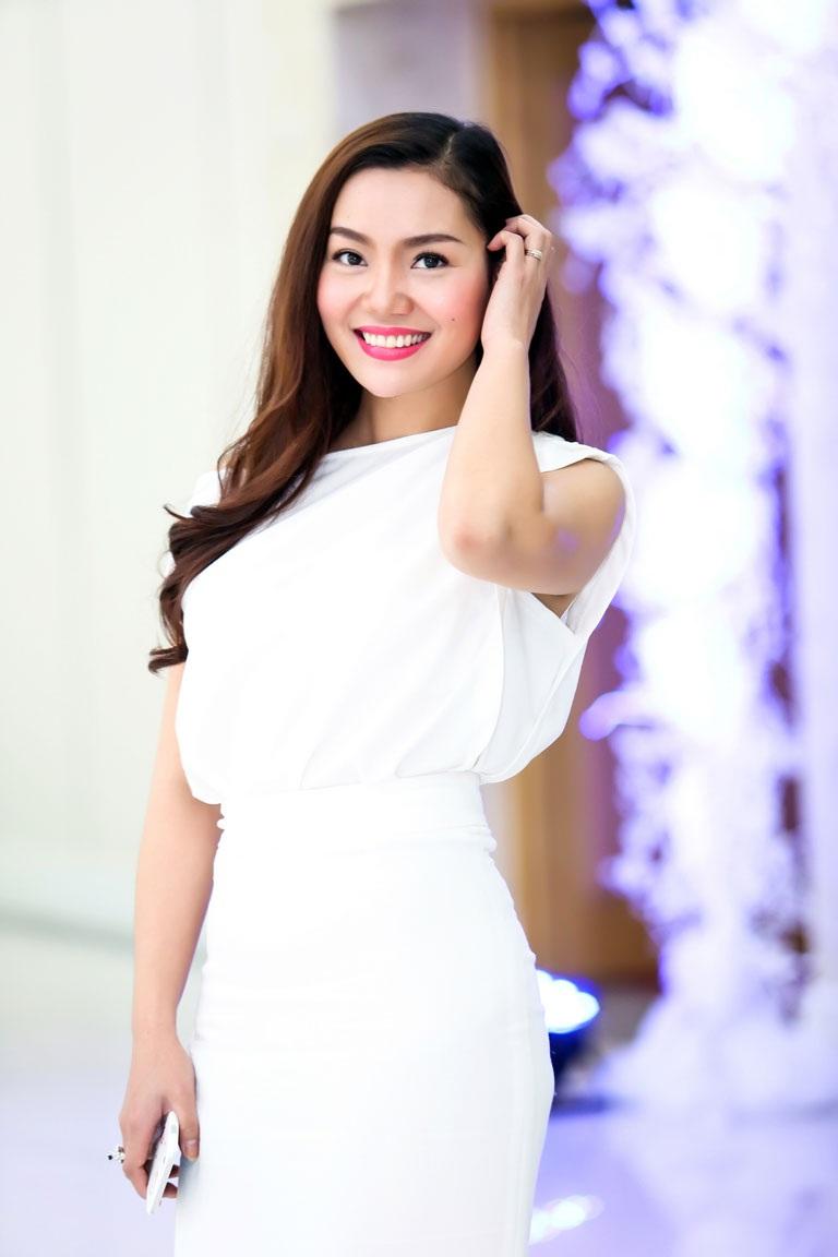Hoa hậu Ngọc Anh cũng xuất hiện tại sự kiện này