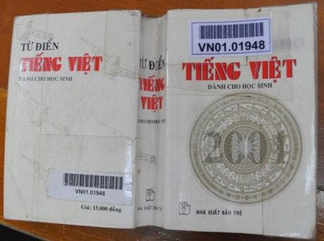 Bìa sách Từ điển tiếng Việt dành cho học sinh