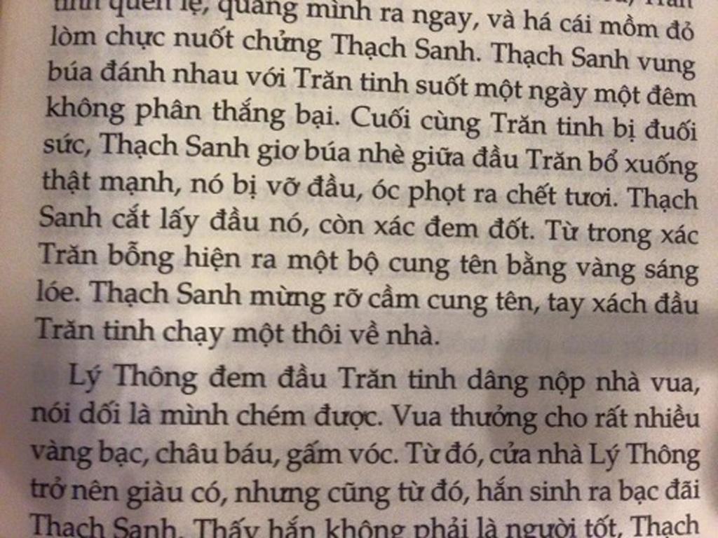 NXB Kim Đồng sẽ chỉnh sửa lại truyện cổ tích Thạch Sanh gây tranh cãi